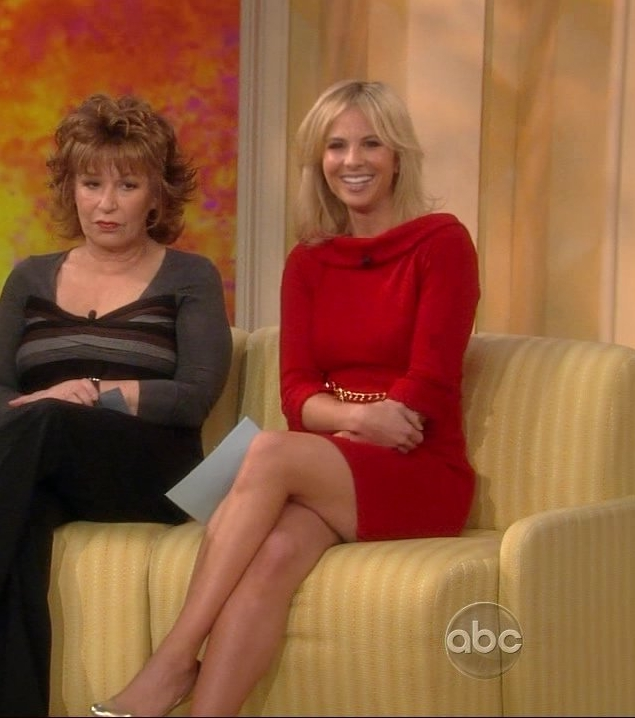Elisabeth Hasselbeck High Leg Lift http://famousmud.wordpress.com/2008/