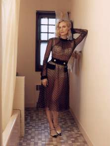 diane kruger in a see through dress